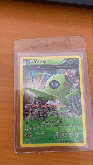 Celebi XY93 Rare Holo Pokemon Card for Sale in Doral, FL