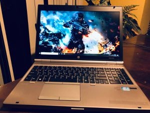 """HP Elitebook 8570p 15.6""""Gaming Laptop w/ 8GB RAM-1GB Video-New Battery for Sale in Brentwood, CA"""