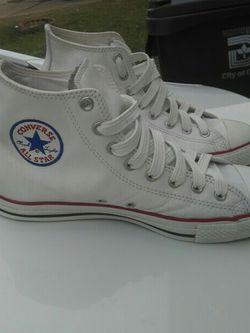 Leather Converse All Stars for Sale in Dallas,  TX