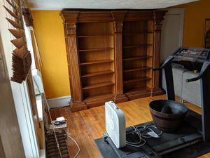 Oak bookshelves delivered and assembled for Sale in Deal, NJ