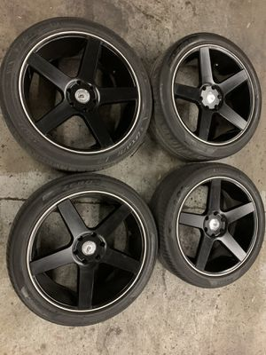 22 inch Wheels & Tires - CHEAP! for Sale in Fresno, CA