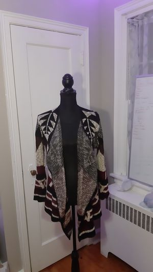 Burgundy black and Cream sweater for Sale in Philadelphia, PA