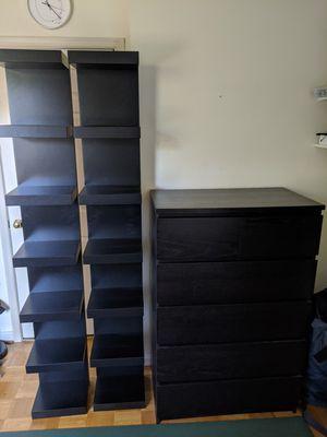 Ikea Shelves and Dresser for Sale in Arlington, VA