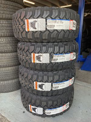 33x12.50r15 New set of Falken MT tires installed for Sale in Rancho Cucamonga, CA