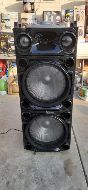 "Speaker 2×15 "" profesional bluetooh very loud sound for Sale in Parlier, CA"