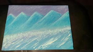 Small pretty painting for Sale in Dickinson, ND