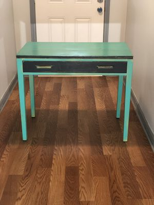 Teal Entry/Sofa Table for Sale in College Park, GA