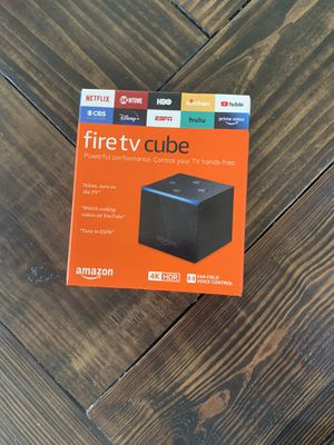 Amazon Fire TV Cube - Like New! for Sale in Cypress, TX