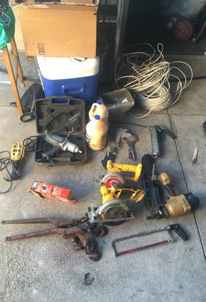 Tools and wires for Sale in Highland, CA