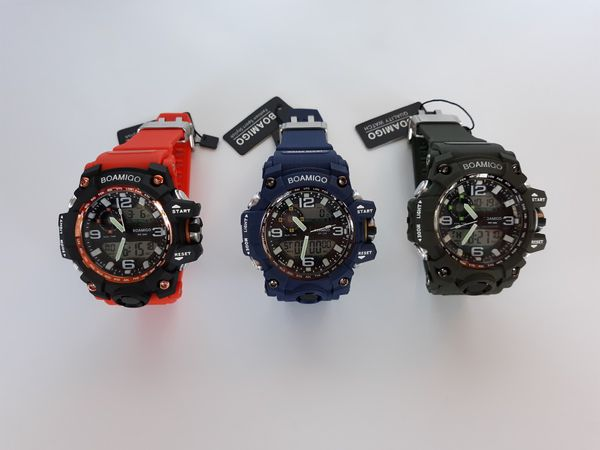Water and Shock Resistant Mens Watch
