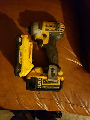 Dewalt impact drill w/2batts and charger for Sale in Holiday, FL