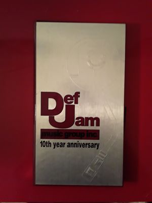 Def Jam 10th Year Anniversary 4-CD Box Set for Sale in Houston, TX