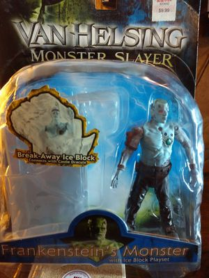Van Helsing Monster Slayer action figure brand new never even open the wrap!!! for Sale in White Plains, MD