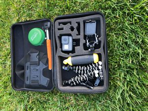 GoPro hero 5and accessories plus great camera bag for Sale in Torrance, CA