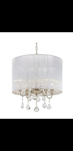 4 light chandelier for Sale in Bakersfield, CA