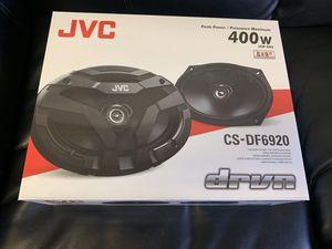 Jvc car audio . 6x9 car stereo speakers. 400 watts . New for Sale in Mesa, AZ