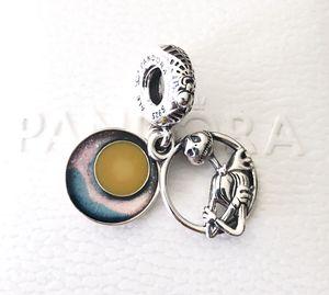 Pandora Disney Nightmare Before Christmas Double Dangle Charm 799148C01 +Box+Tag for Sale in Fontana, CA