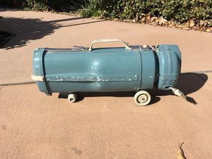 Vintage 60s Electrolux Model L canister vacuum cleaner.Works. for Sale in Los Angeles, CA