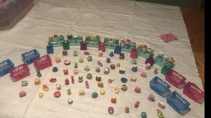 Shopkins with shopping baskets all together -100 pieces They Are Clean A pack To Be Ship Out for Sale in Stroudsburg, PA