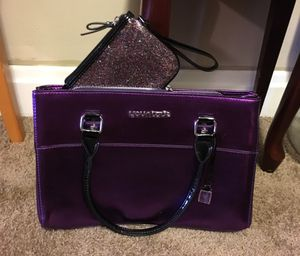 Purple Purse and Wallet for Sale in Columbus, OH