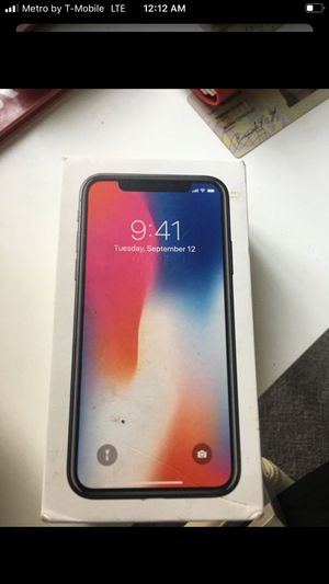 IPHONE X 256 GIG UNLOCKED for Sale in Chino, CA