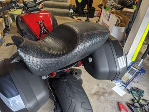 Ducati Diavel Custom Ostrich Seat for Sale in Federal Way, WA