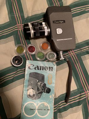 Canon 8 vintage Cine camera for Sale in Raleigh, NC