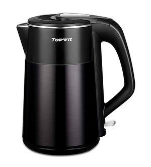 New - Topwit Electric Kettle, Double Wall 304 Stainless Steel Integrated Seamless Interior, 1.7L Hot Water Heater Boiler, Coffee Kettle & Tea Pot for Sale in Miami, FL