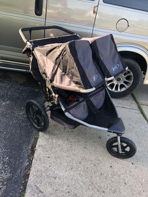 BOB Revolution SE Duallie Black Jogger Double Seat Stroller for Sale in Elgin, IL