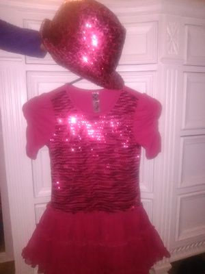 Girls Pop Star Diva Costume size 6 for Sale in Azusa, CA