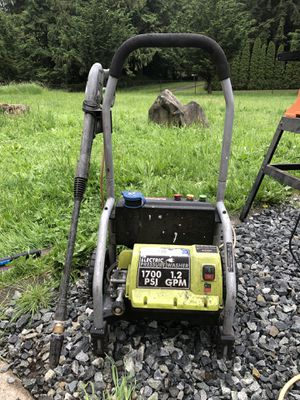 Pressure washer for Sale in Buckley, WA