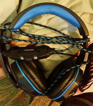 Enhance voltaic gx-h2 usb Gaming headset with mic for Sale in Lytle Creek, CA