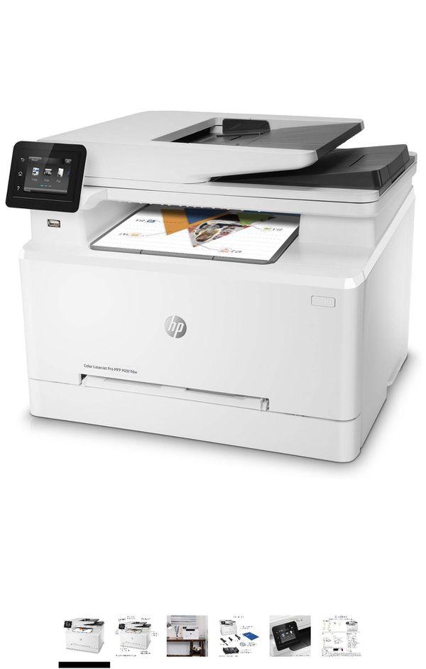 HP LaserJet Pro M281fdw All in One Wireless Color Laser Printer, Amazon Dash Replenishment ready (T6B82A