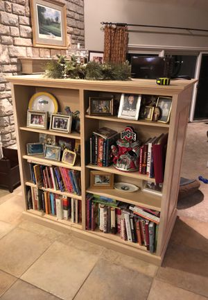 TV Cabinet/Bookcase. Double sided for Sale in Dublin, OH