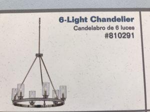Kichler Angelica Lighting Chandelier 6 LT-matching lights available for Sale in Denver, CO
