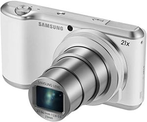 """Samsung Galaxy Camera 2 16.3MP CMOS with 21x Optical Zoom and 4.8"""" Touch Screen LCD (WiFi & NFC- White) for Sale in Arcadia, CA"""