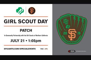 SF Giants Tickets Girl Scout Day for Sale in Modesto, CA