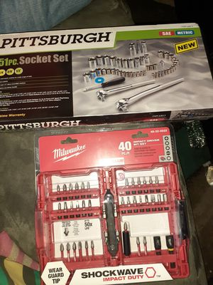 Socket Set and Drill Impact Bits for Sale in Lexington, SC