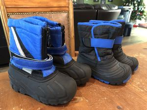 Toddler boy snow boots for Sale in Oakland Park, FL