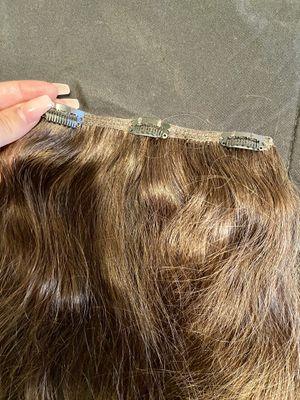 REAL HUMAN HAIR CLIP IN EXTENSIONS for Sale in Phoenix, AZ