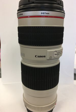 Canon 70-200mm for Sale in Denver, CO