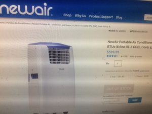 Brand New portable A/C 14,000 btus with dehumidifier and heat for large rooms for Sale in Columbus, OH