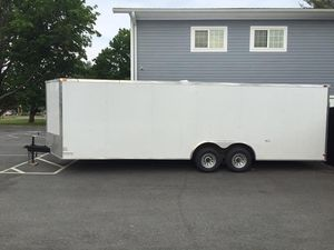 2020 SGC Enclosed cargo 24'x8.5 2 axel trailer will trade for Sale in Westford, MA