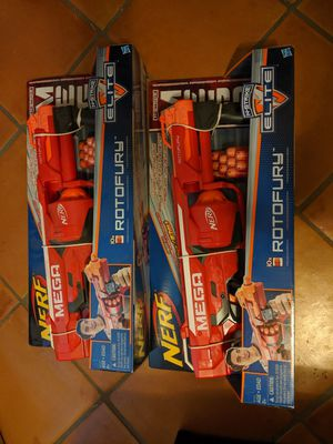 Unopened Nerf Rotofury (QTY 2) for Sale in Tempe, AZ