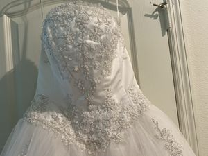 David's bridal dress 8 for Sale in Kissimmee, FL