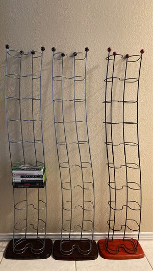 DVD organizer racks for Sale in Arlington, TX