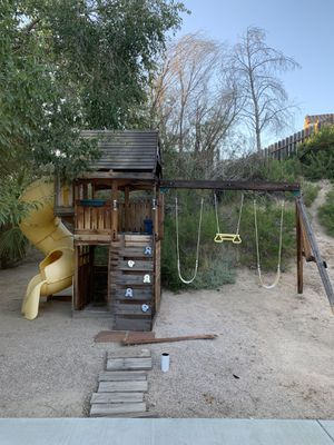 Swing set playset for Sale in Palmdale, CA