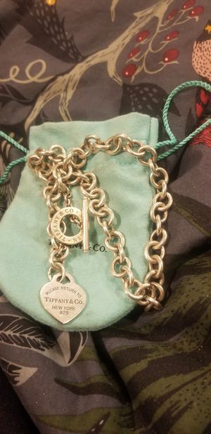 Tiffany & Co. 925 Silver Necklace for Sale in Denver, CO