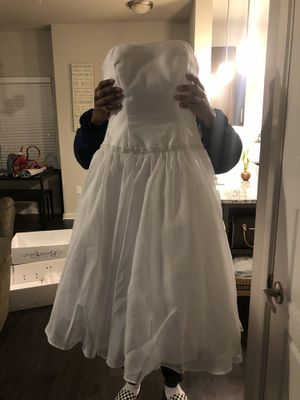 Wedding dress and shoes for Sale in Austin, TX