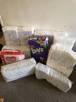 Pampers size 1 for Sale in Baltimore, MD